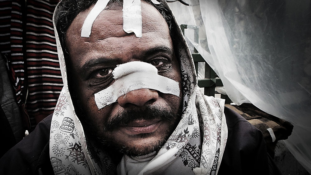 Tahrir Defenders. Egypr revolution portraits.