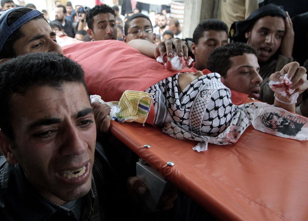 funeral nablus balata 2004
