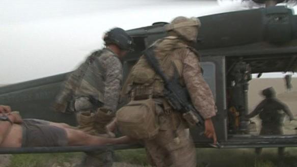 Marine's Diary. Afghanistan War.